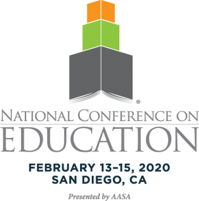 AASA National Conference on Education 2020 official logo
