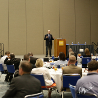 Top Pollster Examines Political Landscape Through Education at AASA's Federal Relations Luncheon