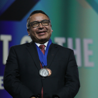 Eugene's Balderas, a Migrant Laborer as a Youth, Named Nation's Top Superintendent for 2020