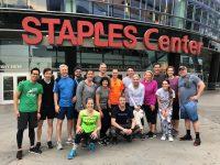 Twenty Early-Risers Take to Nearby Streets for Fun Run