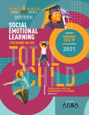 AASA 2021 Virtual National Conference on Education Brochure Cover