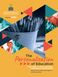 AASA National Conference on Education onsite program cover
