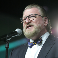Singing Superintendents, With Fewer Voices, Make a Vocal Stance at Conference Finale